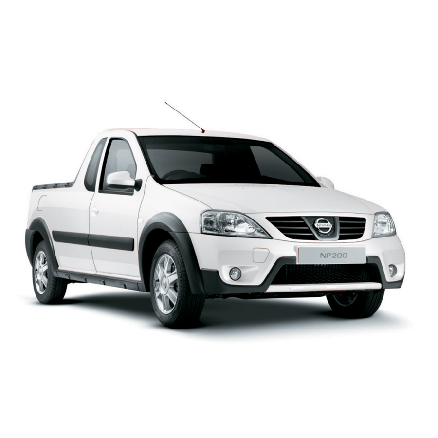 Nissan NP200 or similar